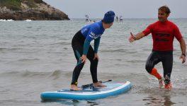 Fisioterapia en la playa