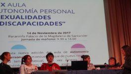 """Participamos en el XIX Aula autonomía personal """"Sexualidades y discapacidades"""""""