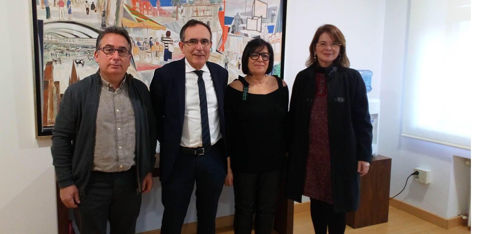 Visita alcalde Torrelavega