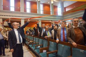 Acto de entrega a Amica del Sello de Excelencia Europea EFQM 500+