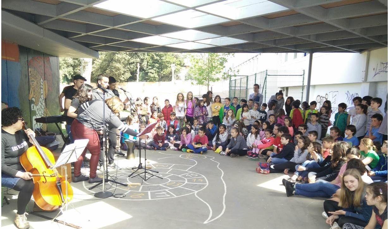 Actuación en el colegio