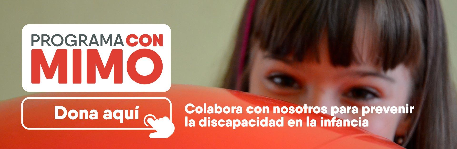 Colabora con nosotros para prevenir la discapacidad en la infancia
