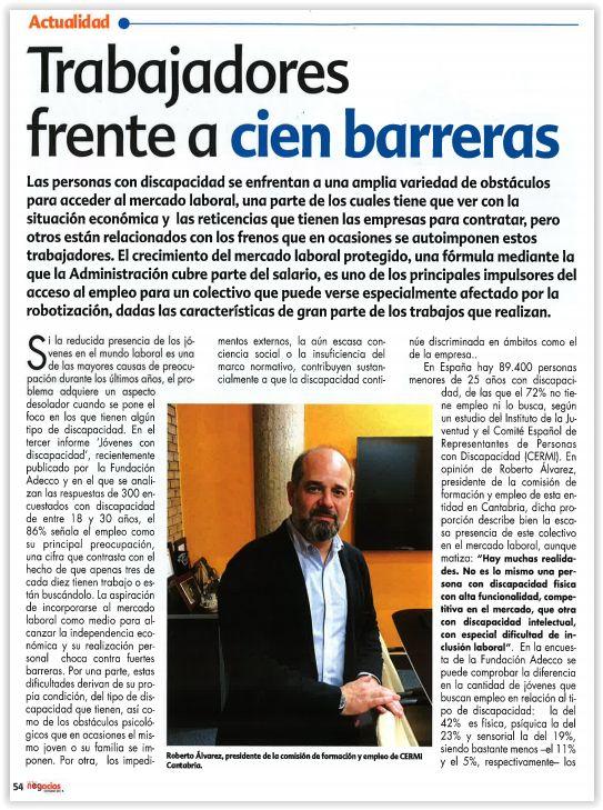 Entrevista Cantabria Negocios
