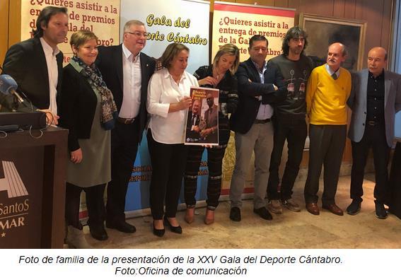 La Gala del Deporte Cántabro cumple su 25 Aniversario apoyando a Amica