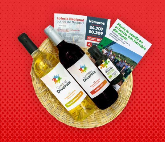 cesta navidad solidaria amica regalo original cantabria