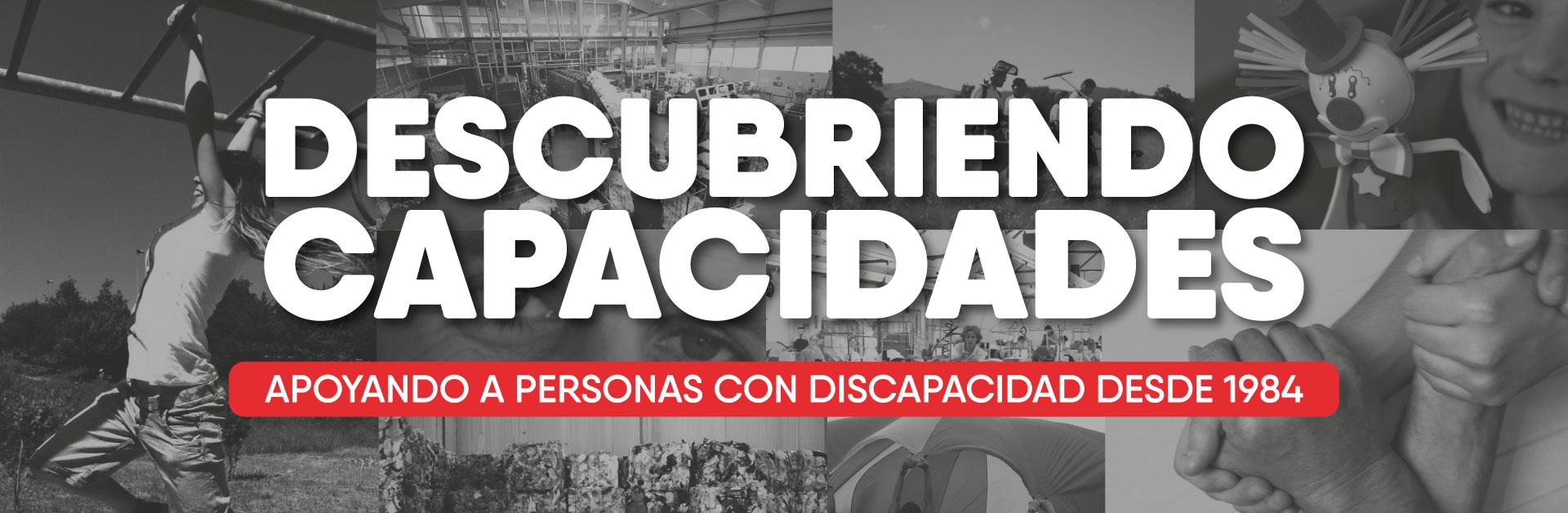 APOYANDO A PERSONAS CON DISCAPACIDAD DESDE 1984