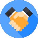 4. Impulsamos convenios de colaboración con empresas para fomentar la inserción laboral de personas con discapacidad en el mercado ordinario de trabajo y para desarrollar operaciones mercantiles con los centros especiales de empleo: SOEMCA Empleo SL y SAEMA Empleo SL.