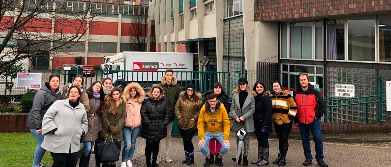 Estudiantes de Integración social visitan el Centro Marisma