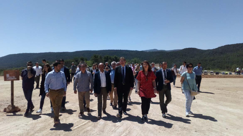 El President de la Generalitat Valenciana visita Campus Diversia