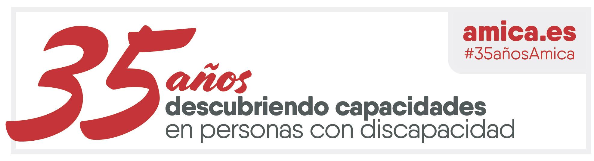 Amica - logo 35 años