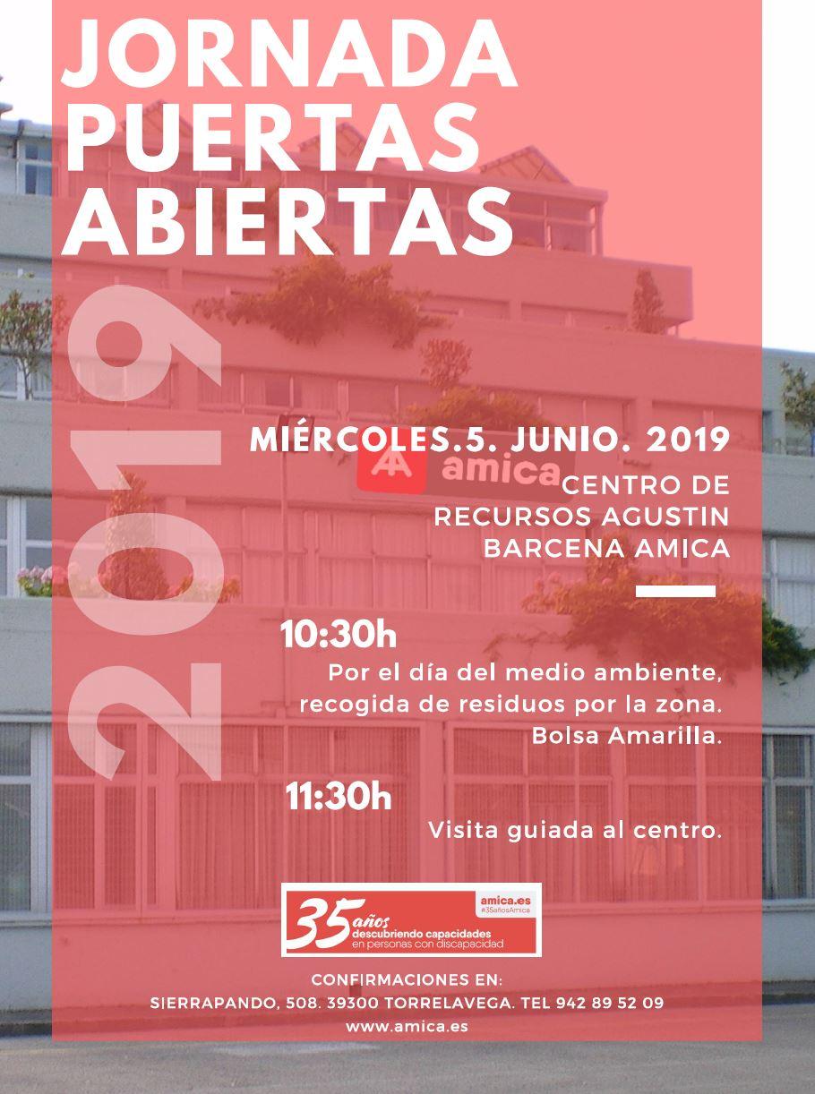 Jornada de Puertas Abiertas del Centro Recursos Agustín Bárcena de Amica