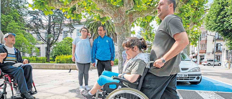 El Diario acompaña a varias personas del Centro de día