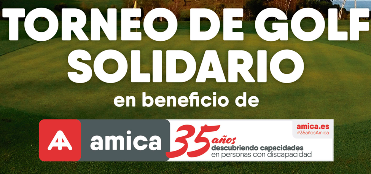 Torneo de golf solidario en beneficio de Amica