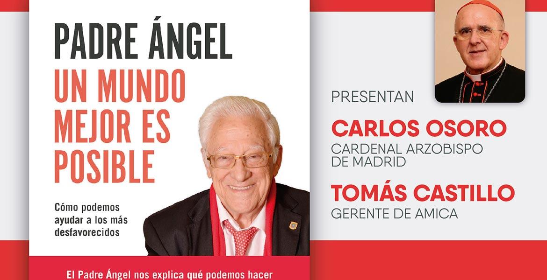 Presentación de libro con el Padre Ángel