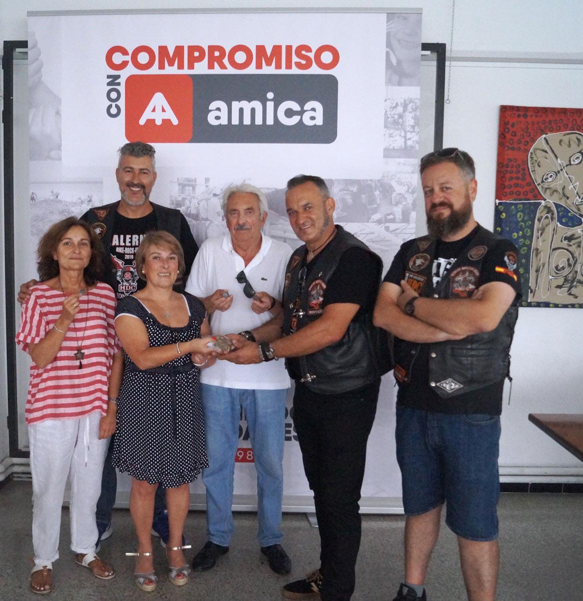HDC Montañés solidarios con Amica