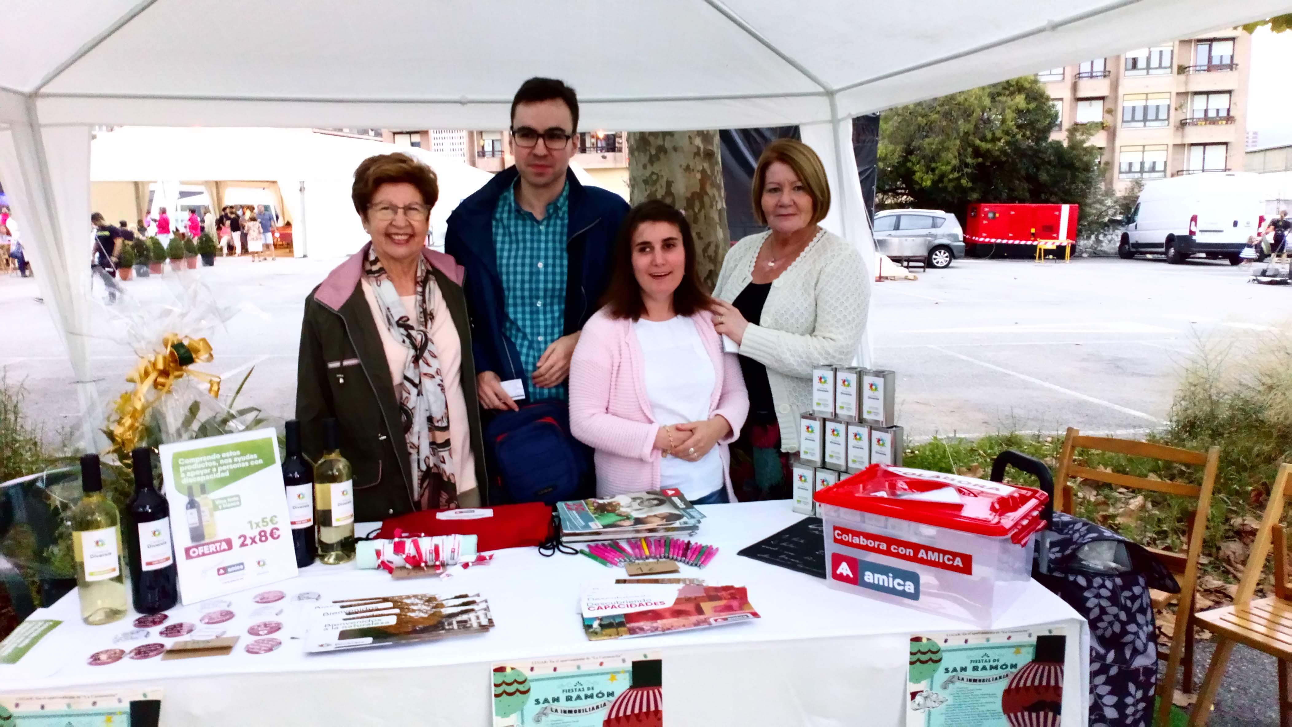 """Donan los beneficios de la fiesta de """"San Ramón"""" en la Inmobiliaria a Amica"""