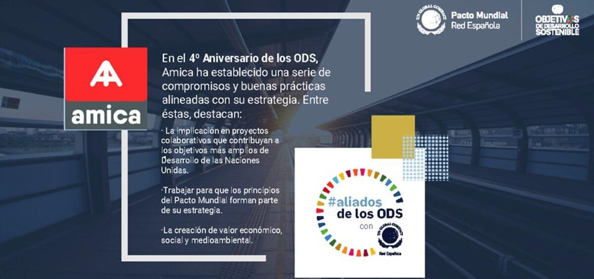 Amica se suma a la campaña #aliadosdelosODS promovida por la Red Española del Pacto Mundial