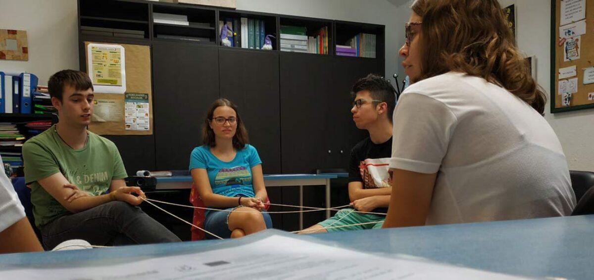 Colaboración en el programa europeo Comanity dirigido a la participación comunitaria y activa de jóvenes.