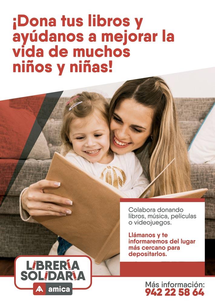 Supermercados Lupa colabora con Amica para prevenir la discapacidad en la infancia con una recogida de libros