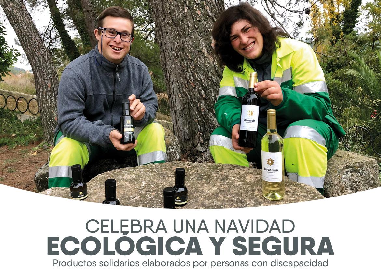 Cesta Solidaria y ecológica de Amica
