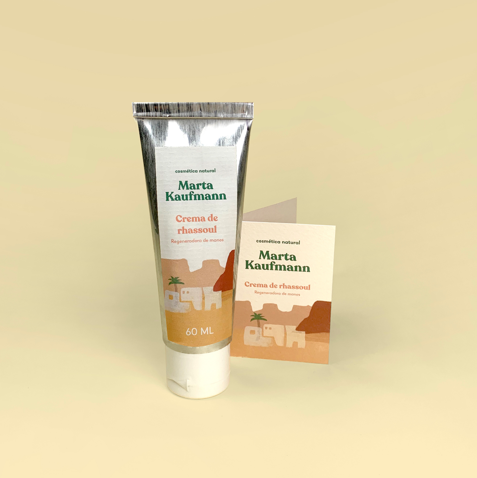 Crema de rhassoul 60ml.
