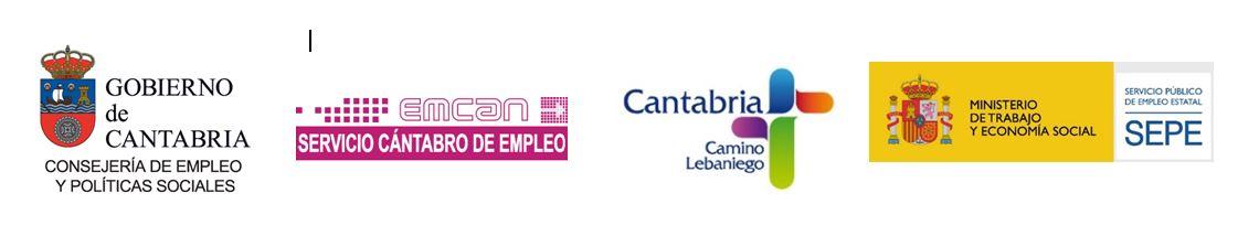 gobierno de Cantabria, en el centro el del emcan y a la derecha el del ministerio