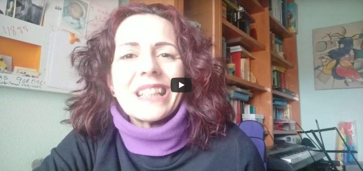 Nieves Frechilla y Paula Sedeño felicitan a Amica con una canción increíble