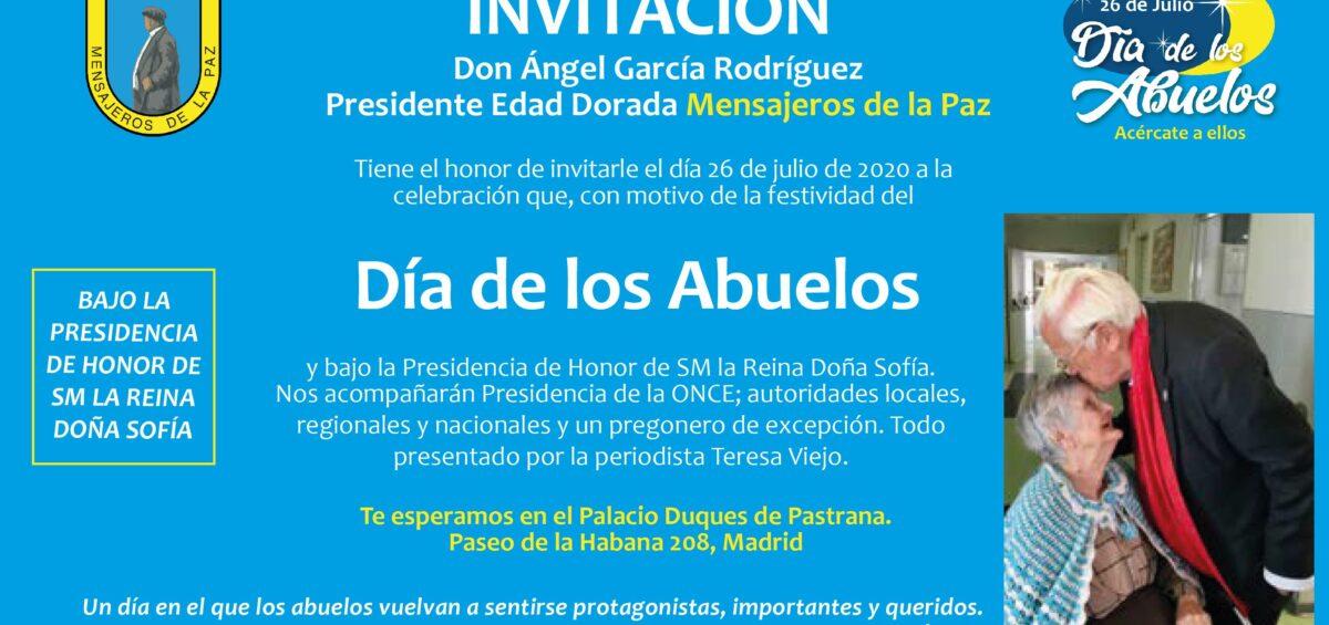 """FESTIVIDAD """"DIA DE LOS ABUELOS"""""""