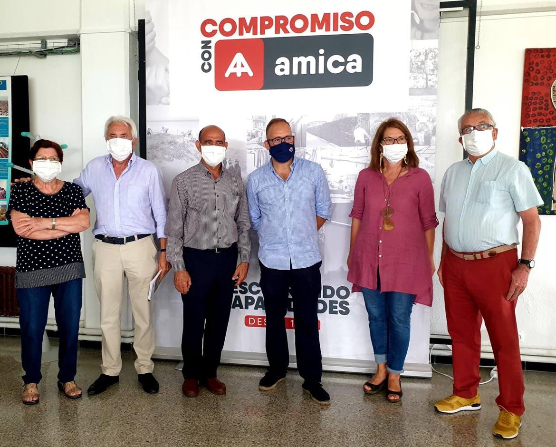 La R.S. Gimnástica y la Asociación AMICA firman un convenio de colaboración para los dos próximos años