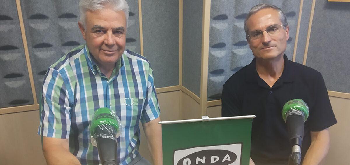 Entrevista a Isidro Rodríguez (Asociación Cántabra de Escritores) y Antonio Ruz (Amica) sobre la Librería Solidaria en Onda Cero