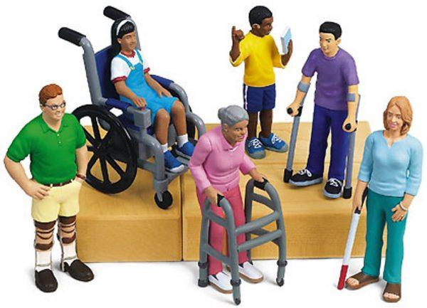 Dibjujo personas con discapacidad