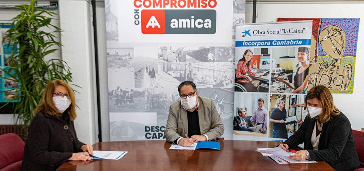"""APEMECAC se une al programa Incorpora de la Fundación """"la Caixa"""" para fomentar la contratación de personas en riesgo de exclusión social en Cantabria"""