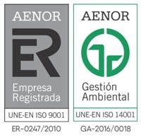 Amica Medio Ambiente cuenta con las certificaciones ISO 9001 e ISO 14001