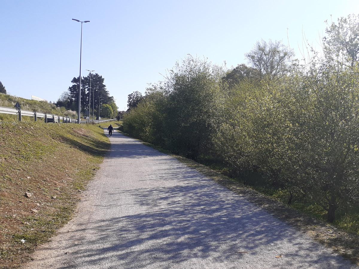 La vía verde a su paso por La Encina de Cayón se libra del plumero