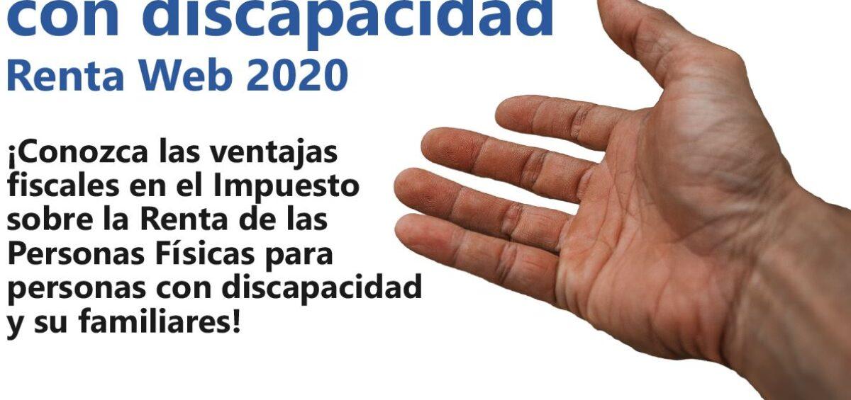NORMATIVA PARA PERSONAS CON DISCAPACIDAD RENTA 2020