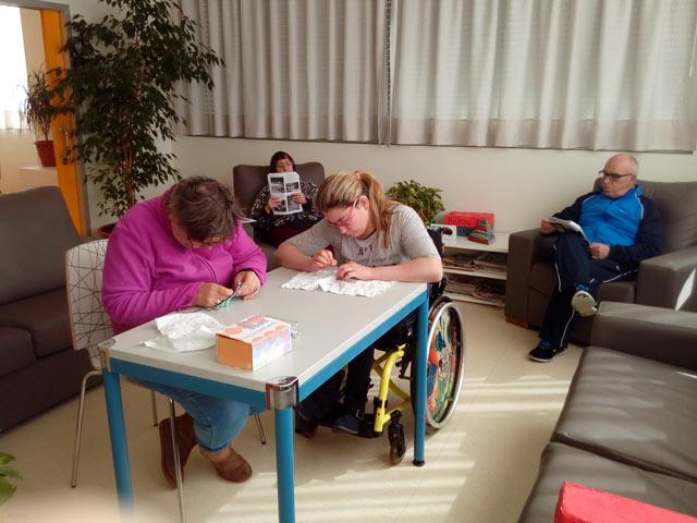 Alojamiento Casa Personas con discapacidad
