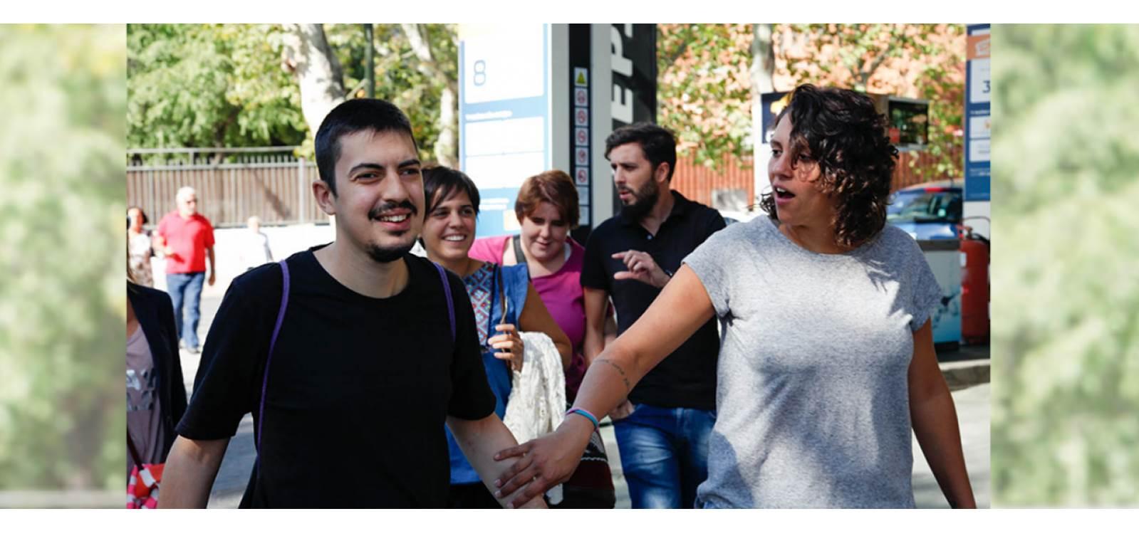 Personas con discapacidad reciben apoyo con la X Solidaria