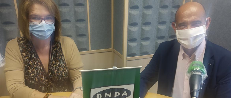 Entrevista a Mercedes del Hoyo y Tomás Castillo en Onda Cero Torrelavega