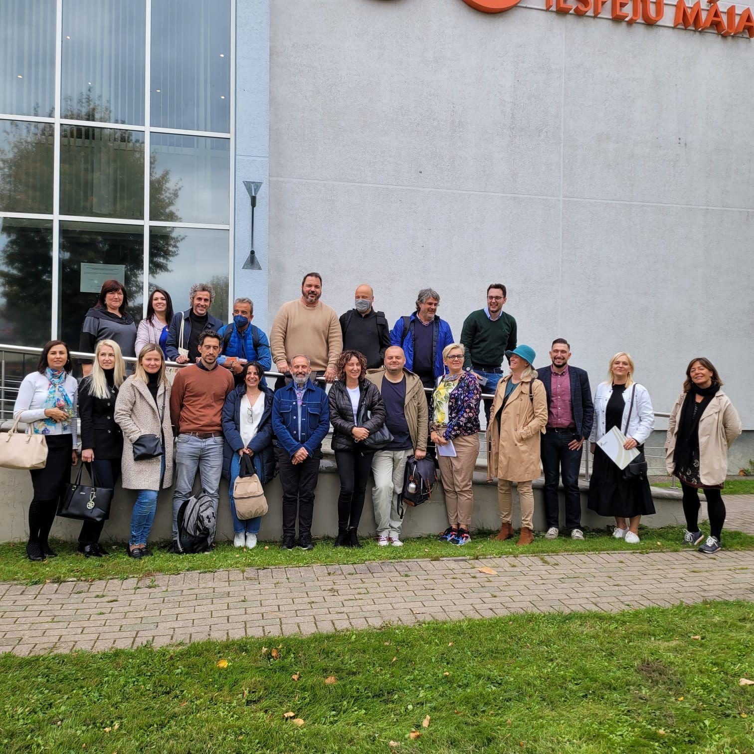 Amica presente en la Delegación de Cantabria en la misión a Letonia en el marco del Proyecto SELF